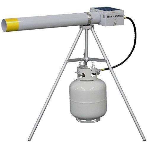 Sonic Sentinel M14-1 Propane Sound Cannon & Tripod Bird Deterrent
