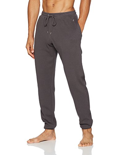 Marc O'Polo Body & Beach Herren Mix Pants Schlafanzughose, Grau (Dunkelgrau 205), X-Large