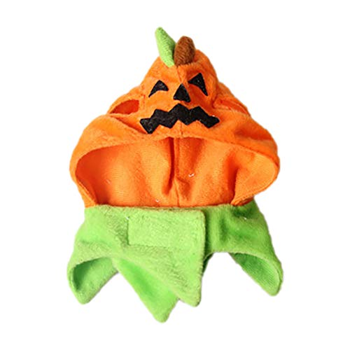Radiya ペット 帽子 ハロウィン 変身 かぼちゃ ハット 犬 猫用 コスプレ キャップ 被り物 かぶりもの 犬用...