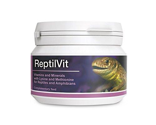 PETS Dolfos ReptilVit 100g Vitaminas Minerales Aminoácidos para Reptiles y Anfibios