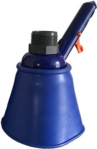 BoFiTec Mulmsauger Saugglocke Saugtrichter Schlammsauger Teichreiniger für Teleskopstiel und 32/38mm Schlauch