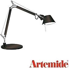 Artemide Tolomeo Micro tafellamp met voet, lengte 45 hoogte 37 max 73 cm