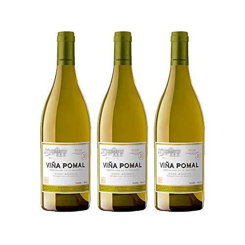 Viña Pomal | Vino Blanco 2015 Viña Pomal | MEDALLA DE ORO CINVE - 2017 | D.O.Ca. Rioja | Caja de 3 botellas de 75 cl