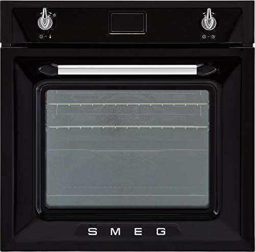 SMEG Backofen Einbau-Backofen aus Edelstahl SF6922NPZE1 schwarz