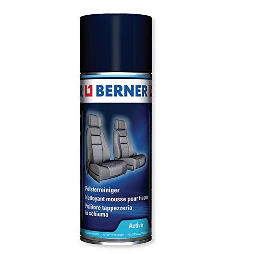 Berner: Pulitore tappezzeria in Schiuma Professionale Multiuso per Cura e Interni, per Parti cromate, in plastica, tappezzeria, tappetti e Oggetti Simili