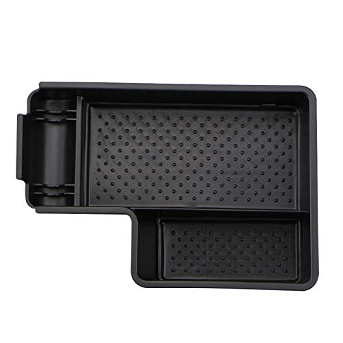 Tonyzhou Co.,ltd Auto Organizer, für VW Golf 6 MK6 R20 GTI Scirocco, für Jetta MK5 Zentralarmlehne Aufbewahrungsbox Containerhalter Tablett