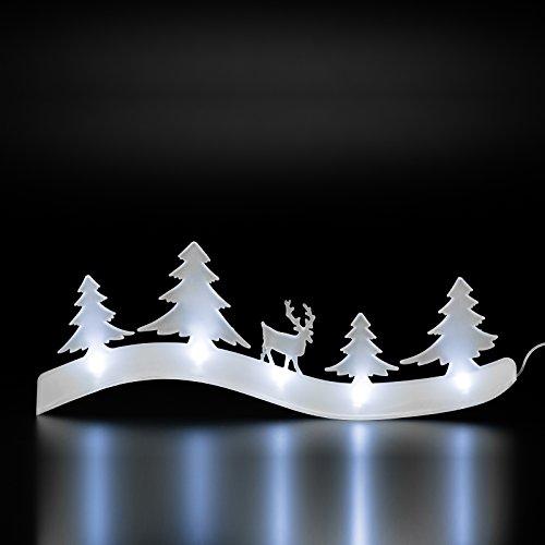 LED lampe décorative doux nachten weichnachtsbaum Sapin Renne de