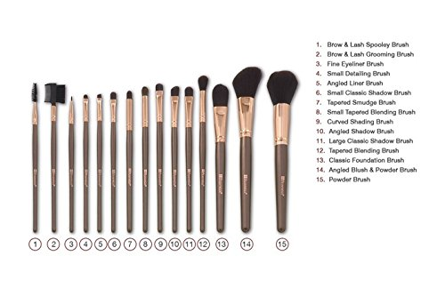 BH Cosmetics Rose Gold Brush Set