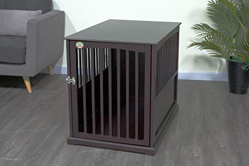 "Go Pet Club 37"" Dog Crate End Table Basic Crates"