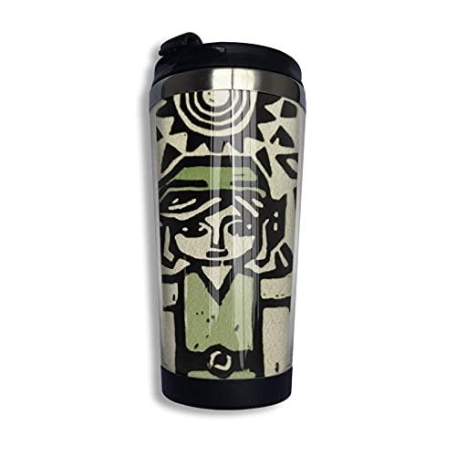 DJNGN Wind Waker Coffee Travel Mug Taza de doble pared de acero inoxidable con aislamiento al vacío Tazas de vaso 13.5 oz