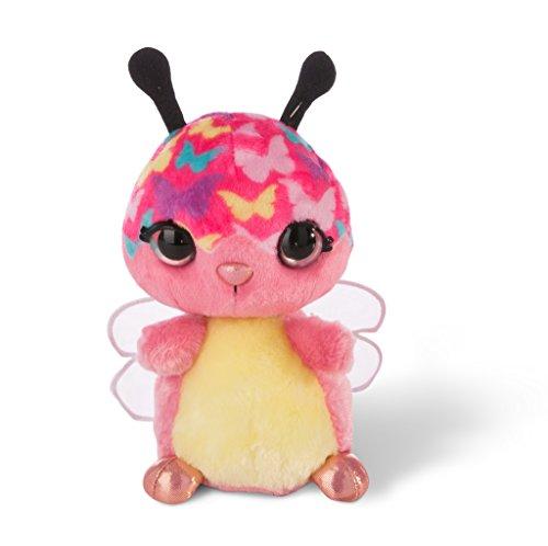 NICI- NICIdoo Ojos mágicos Mariposa Lomsi, Peluche 16cm,
