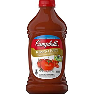 Campbell's Tomato Juice, 64 Fl Oz, Pack of 6 |