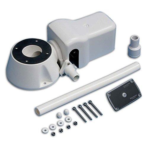 Ocean Deck-Kit Para Convertir Inodoro Manual de Eléctrico: 12 V