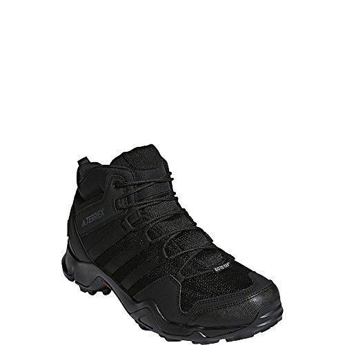 adidas outdoor Terrex AX2R Mid GTX Black/Black/Black 10