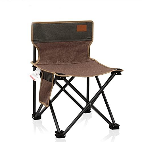 YEK Silla de Camping portátil - sillas Plegables ultraligeras compactas de Alta Capacidad de 300 Libras, para Hiker Camp Beach al Aire Libre