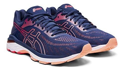 ASICS Gel Pursue 5 Women's Running Shoe, Blue Expanse/Laser Pink, 9 M US