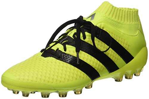 adidas Ace 16.1 Primeknit AG, Botas de fútbol para Hombre, Amarillo (Amasol/Negbas/Plamet), 48 2/3 EU