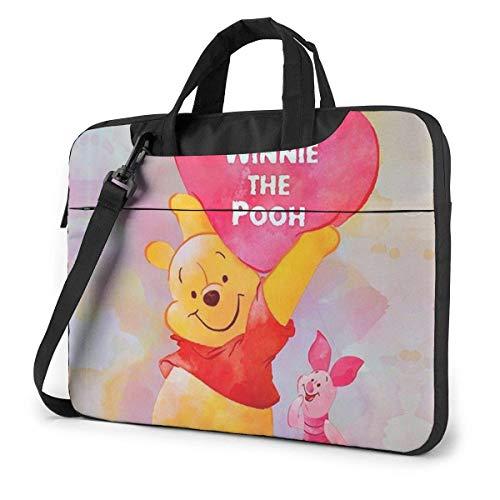 15.6 Inch Laptop Bag Happy Laptop Briefcase Shoulder Menger Bag Case Sleeve