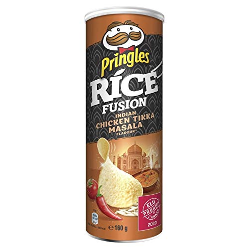 Pringles - Fusión De Arroz Pollo Tandoori Masala Indian 160G - Lot...