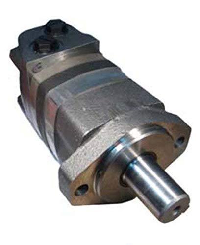 "Char-Lynn 2000 Series Birotational Motor: 2 Bolt A Mount, 1 1/4"" Dia. Straight Shaft, 14.9 CID, SAE 10 Ports, 308 RPM, 5850 Torque, 3000 PSI, 1.25 Woodruff Keyed Shaft, Dual Rotation, 254091"