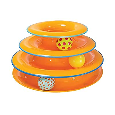 Petstages Tower of Tracks Interactive 3-Tier Cat Toy from PetStages
