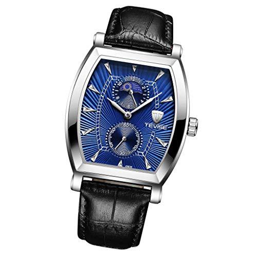 Colcolo Relojes de Pulsera Reloj de Cuarzo, Reloj de Mujer, Resistente Al Agua - Azul