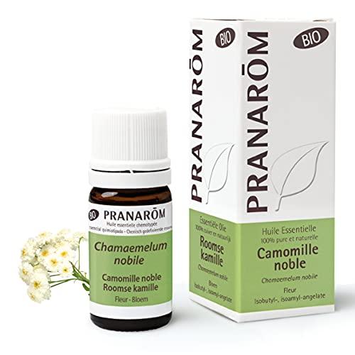 Pranarom - Aceite Esencial De Bio - Flor -, Chamaemelum Nobile, 5 ml, Manzanilla Romana, 5 Mililitro