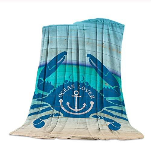 Epty deken, flanel, voor oven, seasons, krab, warme dekens, zacht en comfortabel, zacht beddengoed