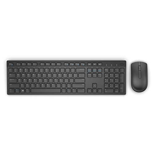 Dell Wireless Keyboard and Mouse- KM636 (black)