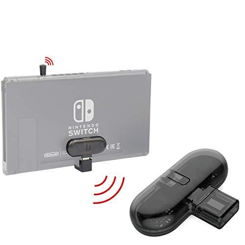 Roshing Adaptateur audio Bluetooth pour Nintendo Switch,Transmetteur audio USB de type C sans fil avec adaptateur de type U et microphone,Support Aptx Faible Latence,Plug & Play et Chat vocal en jeu