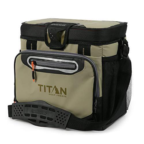 Titan(タイタン)クーラーボックス Deep Freeze 8L 16カン モス