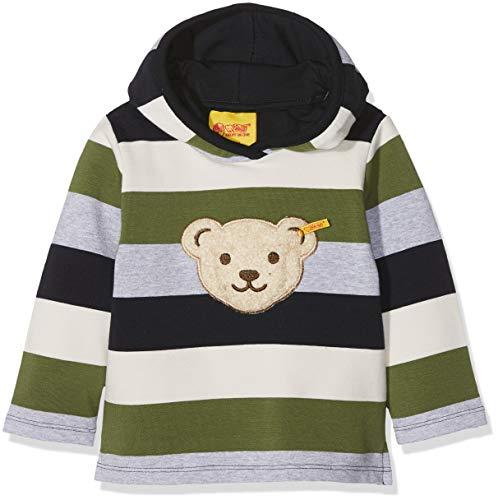 Steiff Steiff Baby-Jungen 1/1 Arm Sweatshirt, Mehrfarbig (Y/d Stripe Multicolored 0001), 86