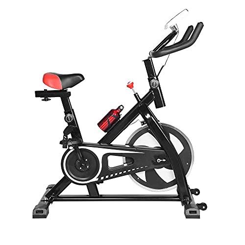 SAFGH Bicicleta estática, estática, Plegable, Vertical, reclinada, Bicicleta estática, con Monitor LCD y Asiento Ajustable, para Entrenamiento en casa, Ciclismo en Interiores