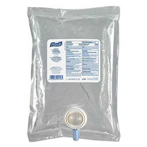 PURELL Advanced Hand Sanitizer Gel Refill, 1000 mL Refill, Case of 8