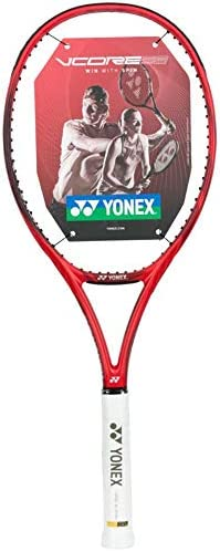 Tennis Racket Racquet 10.8oz 16x19 v core red Yonex Vcore 98 305g STRUNG 4 3//8