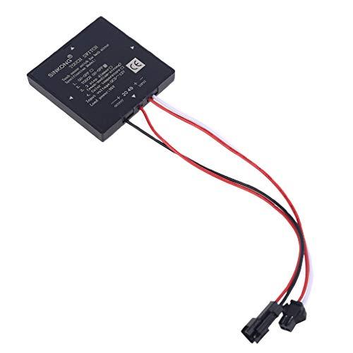 WT-DDJJK Accessoires de commutateur, 5–12 V, interrupteur tactile pour miroir de salle de bain, capteur pour lumière LED – 2