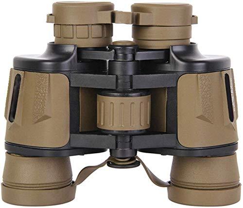 FGVDJ Binoculares 8x40 para Adultos Compactos para Viajes Binoculares de visión Nocturna de Alta Potencia, Impermeables y con Poca luz, Deportes de OBS