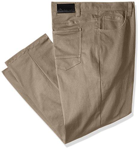 AKADEMIKS Mens' Shady Slim Stretch Jean, Khaki, 46/32