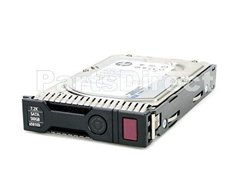 653948-001-SC HP G8 G9 2-TB 6G 7.2K 3.5 SAS SC, 2 Stück