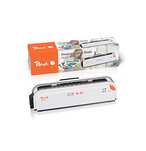 Peach PB200-70 Thermobindegerät DIN-A4 | Testsieger* | schnell startklar | nur 1 min. Bindezeit | einfachstes und schnellstes Bindesystem