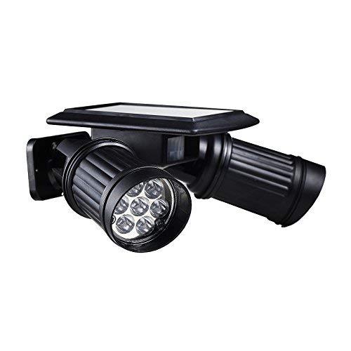 Itian ソーラーライト センサーライト 2灯式 14個LED搭載 センサー付き 省エネ 屋外照明/防犯照明/庭先/玄関などに対応 壁掛け/ワイヤレス/防水のライト 太陽光充電/夜間自動点灯