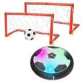 Colmanda Air Power Ballon, Ballon de Foot Rechargeable avec LED Lumière Et la Musique, Enfants Hover Soccer Hover Football pour Cadeau Garçons Filles Jeux Intérieur Extérieur