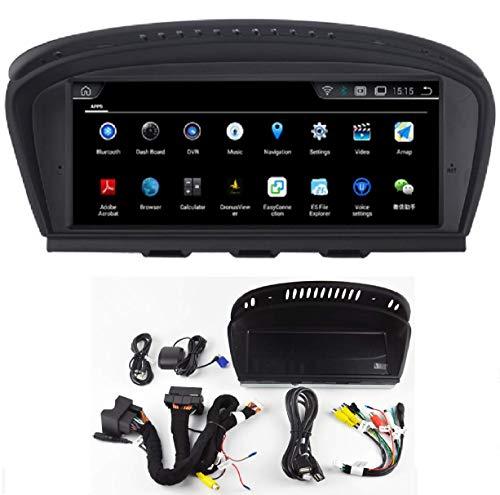 Android AUTORADIO KasAndroid 9.0 para BMW 3 Serie E90 / 5 Serie E60 CCC 10 Pin / 8.8' Pantalla Extra Grande 6 Core 2GB RAM 32GB ROM Car GPS Radio Coche,WiFi navegador Mapa 2005-2006-2007-2008-2009