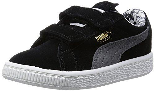 Puma Jungen Batman V Sneaker, Schwarz (BLK/S.GREY 01BLK/S.GREY 01), 21 EU