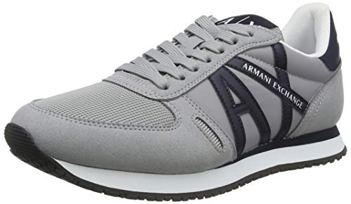 Armani Exchange Rio Sneakers, Basket Homme, Gris, 40 EU