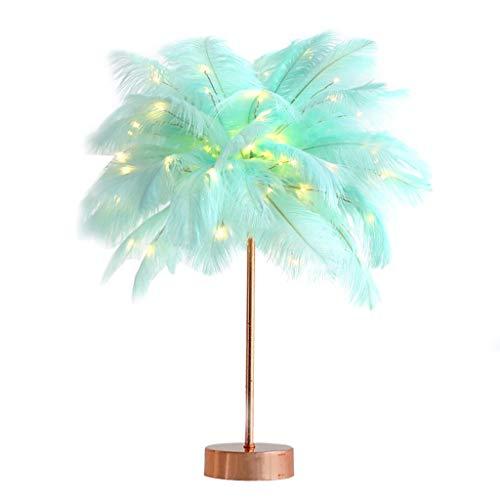 Lámparas de Mesa Libro lámpara de mesa de noche de lectura de luz for la lámpara de la pluma de la muchacha for el dormitorio lámpara de cabecera de la boda del cumpleaños Deco luz del escritorio