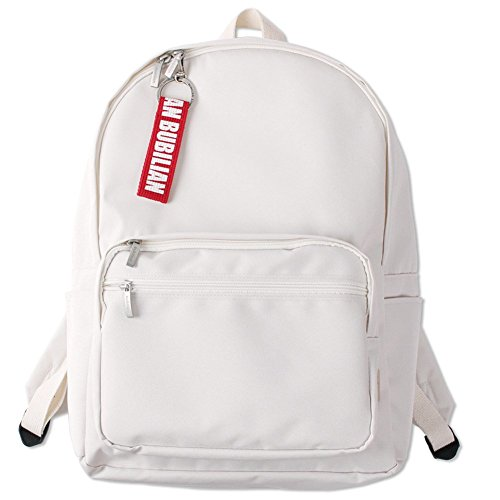 Bubilian BTBB Backpack/Korean Street Brand/School Bag/Travel Bag (Cream)