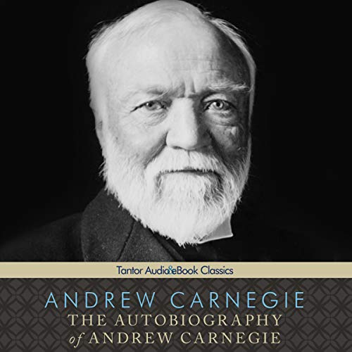 The Autobiography of Andrew Carnegie copertina