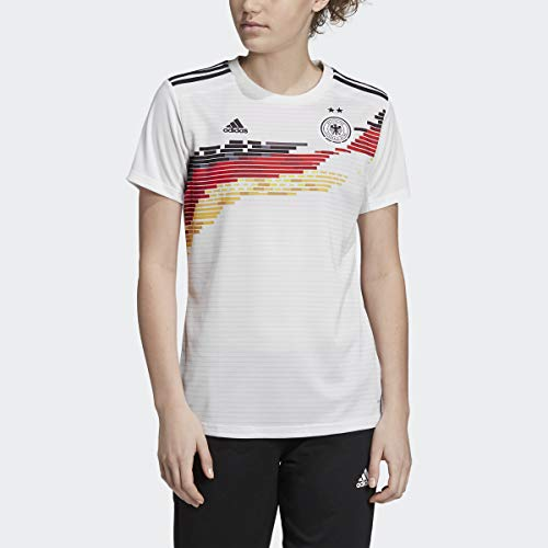 adidas Germany Women's National Team Women's 2019 Home Replica Jersey – White (Large)