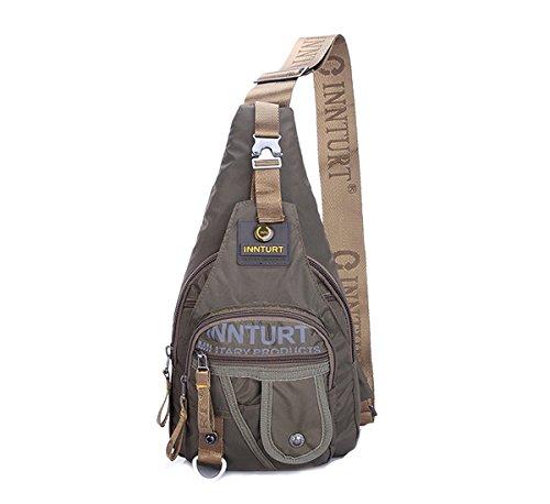 Innturt Bodybag-Rucksack, Nylon, Tagesrucksack - Medium-Army Green